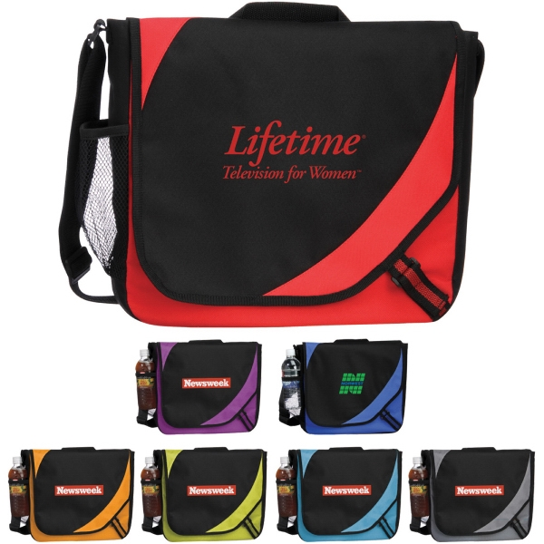 Custom Printed 1 Day Service Zippered Accessory Bags