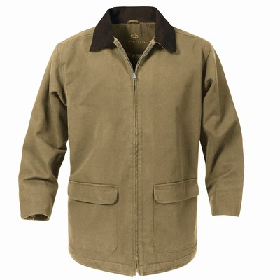 While most waxed canvas jackets can handle rain dropping in sheets, this stops it coming in from the sides, or the restless waves beneath. Purchase: $ L. L. Bean Town and Field.
