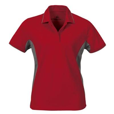 Stormtech performance coolmax baja polo golf shirts for Custom embroidered polo shirts no minimum