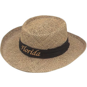 Straw Hats, Custom Imprinted With Your Logo!