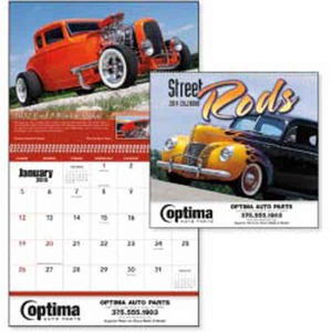 Custom Printed Street Rods Appointment Calendars