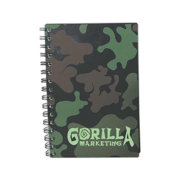 Custom Printed Camouflage Hunter's Journals