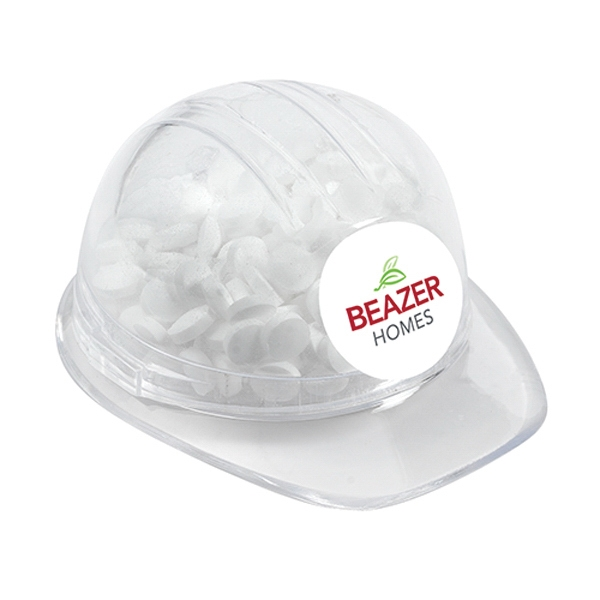 Candy Filled Hard Hats, Custom Imprinted With Your Logo!