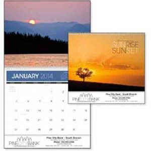 Custom Printed Sunsets Appointment Calendars