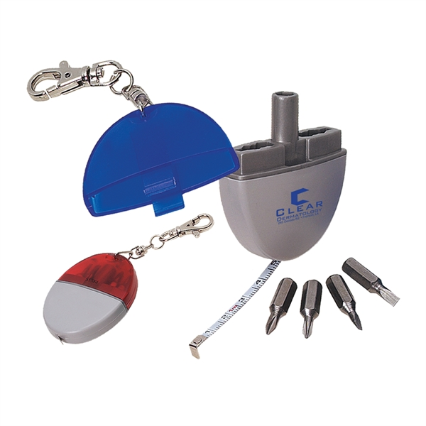 Custom Printed 1 Day Service Oval Shaped Tool Kits