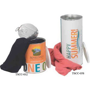 T-Shirt Filled Cans, Personalized With Your Logo!