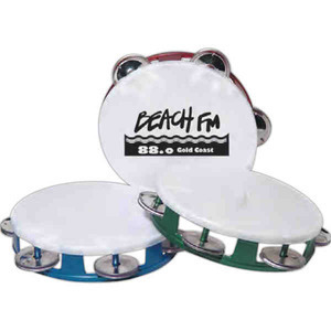 Custom Printed Tambourine Music Themed Items