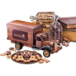 Custom Printed Tank Truck Vehicle Themed Food Gifts