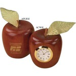 Custom Printed Teacher Wooden Apple Replica Gifts