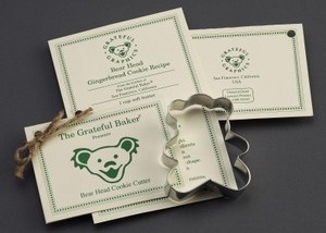 Custom Imprinted Teddy Bear Stock Shaped Cookie Cutters