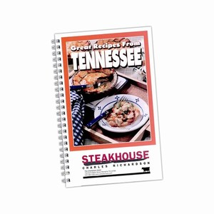 Custom Printed Tennessee State Cookbooks