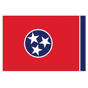 Tennessee State Flags, Custom Imprinted With Your Logo!