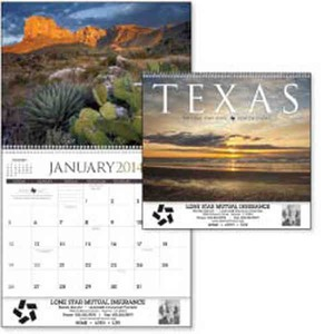 Custom Printed Texas Appointment Calendars