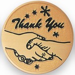 Custom Engraved Thank You Emblems and Seals