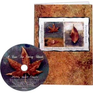 Custom Printed Thanksgiving Holiday Music Cds