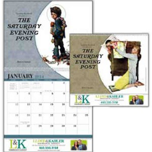 Custom Printed The Saturday Evening Post Appointment Calendars