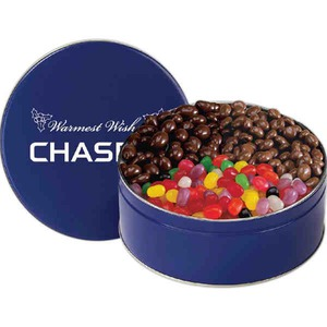 Custom Printed Three Flavor Treat Tins