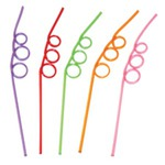 Customized Three Looped Straws