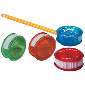 Custom Printed Thumb Slide Pencil Sharpeners