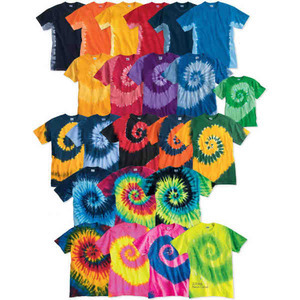 Custom Printed Tie Dye T-Shirts