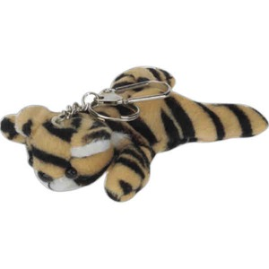 Custom Imprinted Tiger Plush Ornaments