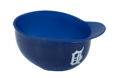 Custom Printed Detroit Tigers Team MLB Baseball Cap Sundae Dishes