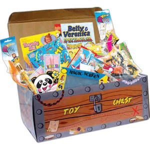 Custom Printed Toy Filled Treasure Chests