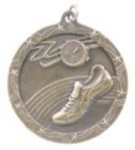 Custom Printed Track High Relief Medals
