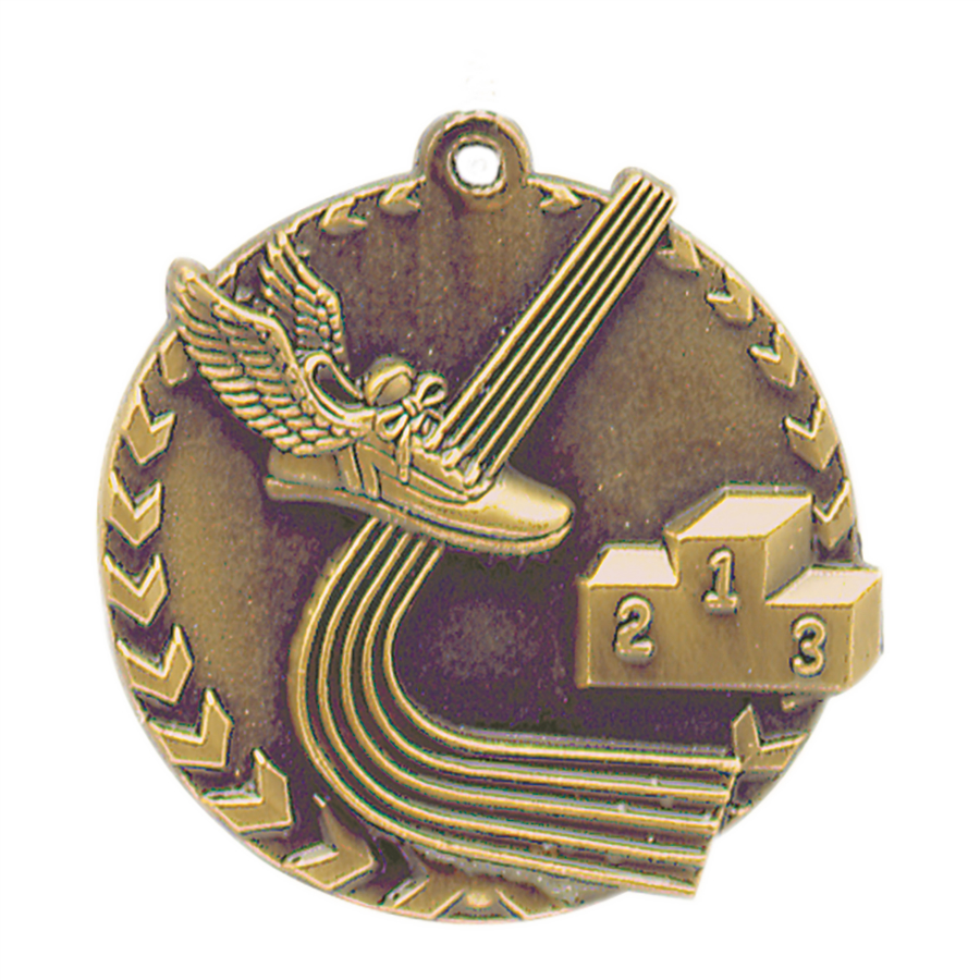 Track Millennium Medals, Personalized With Your Logo!