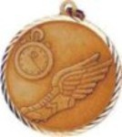 Custom Printed Track Sunray Medals