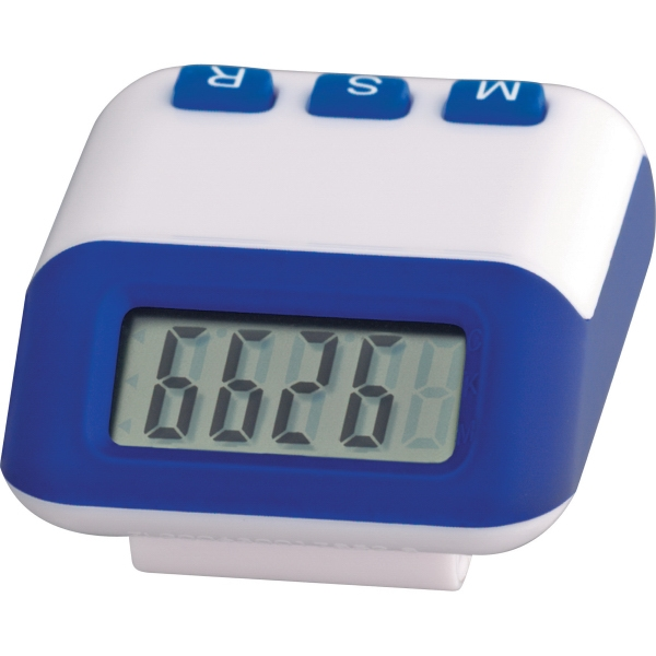 1 Day Service Large Display Pedometers, Custom Imprinted With Your Logo!
