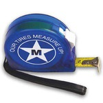 Custom Printed Translucent Tape Measure Tools