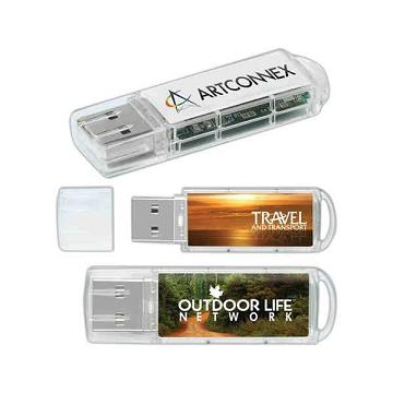 Custom Printed Translucent USB Drives