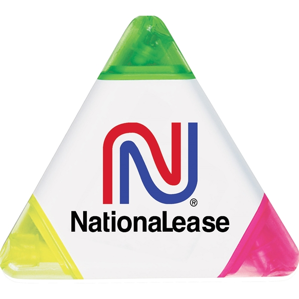 1 Day Service Triangle Highlighters, Custom Decorated With Your Logo!