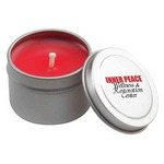 Custom Printed Travel Tin Candles