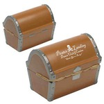 Custom Imprinted Treasure Chest Shaped Stress Relievers