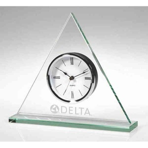 Custom Imprinted Triangle Shaped Clocks