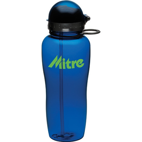 1 Day Service 21oz. BPA Free Plastic Sports Bottles, Customized With Your Logo!