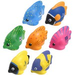 Custom Made Tropical Fish Shaped Stress Relievers