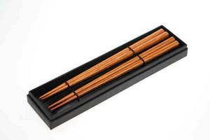 Custom Printed Two Pair Wooden Chopsticks Sets