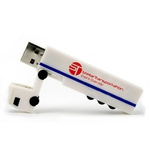 Custom Imprinted Semi Truck Shaped USB Flash Drives