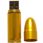 Custom Imprinted Bullet Shaped USB Flash Drives