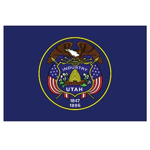 Custom Printed Utah State Flags
