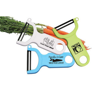 Vegetable Peelers with Handles, Custom Imprinted With Your Logo!