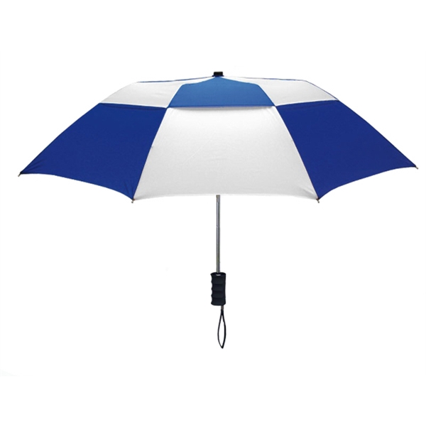Custom Printed Vented Folding Umbrellas