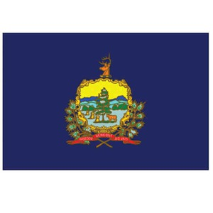 Custom Printed Vermont State Flags
