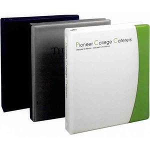Vinyl Binders, Custom Imprinted With Your Logo!