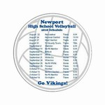 Customized Volleyball Sport Car Magnets