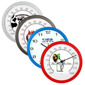 Custom Printed Wall Thermometers
