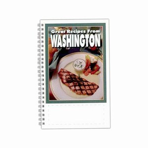 Custom Printed Washington State Cookbooks